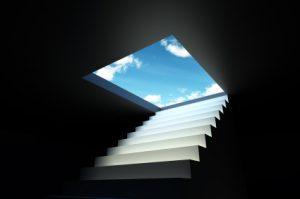 Stair to sky